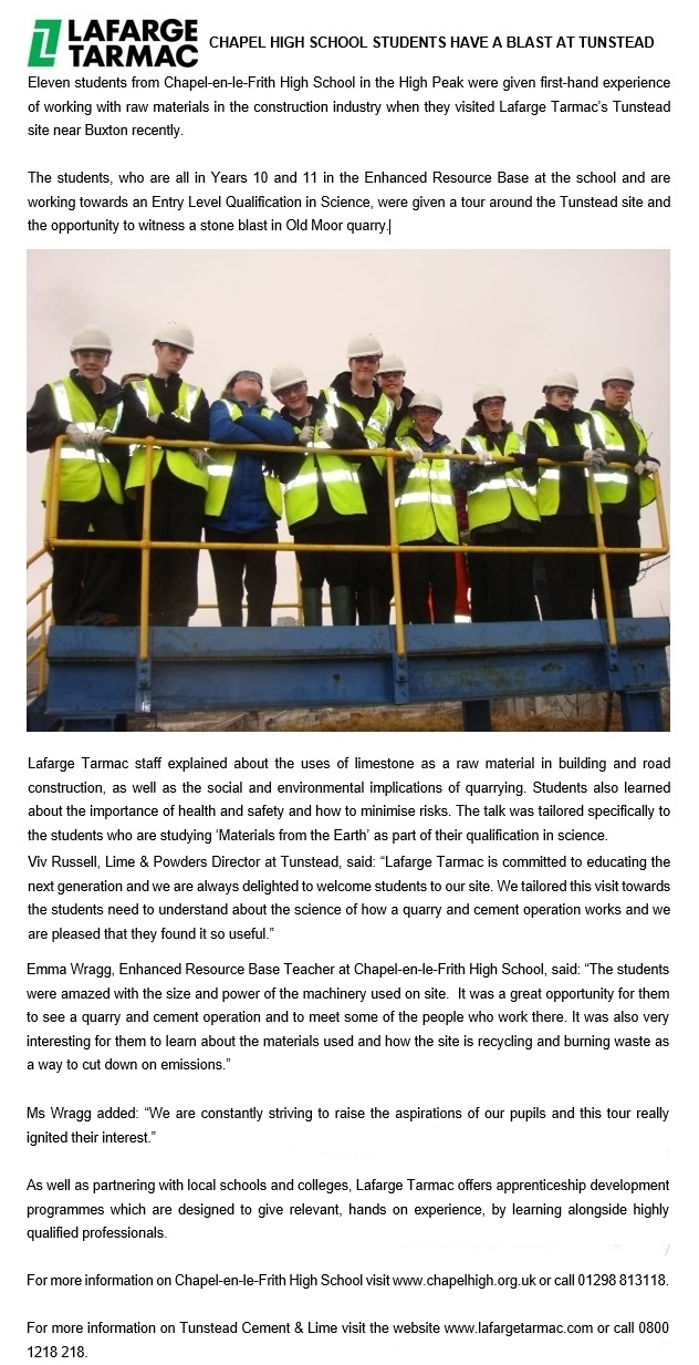 lafarge press release march 2015