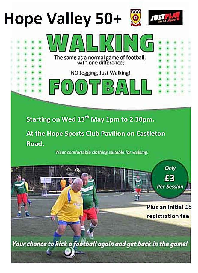hope walking football