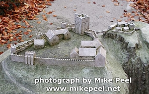 peveril castle model